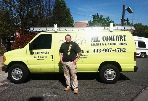 Dennis Mellott, Owner of HVAC Company in Elkton, MD