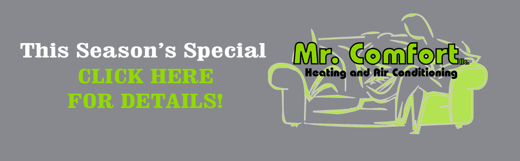 Mr Comfort Slider HVAC Specials